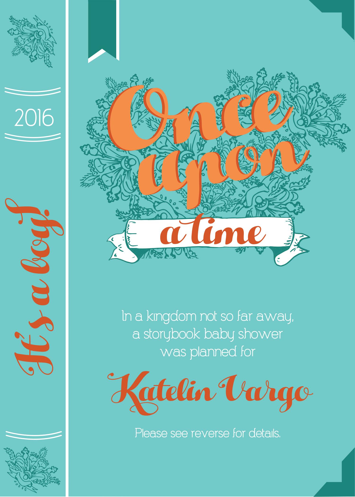 Baby Shower Invite – Leslie Osmont Design